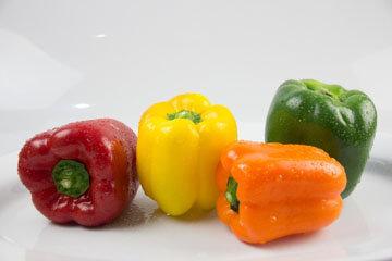Полезные овощи и фрукты - радуга в тарелке 2