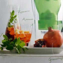 Для гранатового лимонада