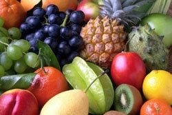 Из фруктов рекомендуются в первую очередь экзотические фрукты