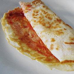Рецепт блинов без яиц