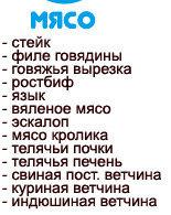Таблица продуктов для диеты Дюкана 1