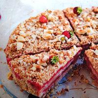 Торт с клубникой рецепт