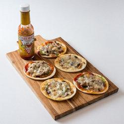коржи для пиццы готовить порционными