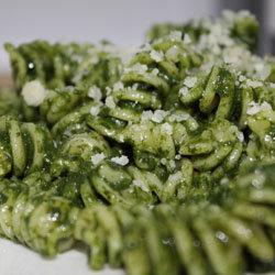 3. Паста со шпинатом