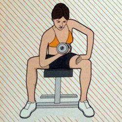 Упражнение 1 для бицепсов