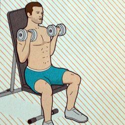 Упражнение 3 для бицепсов