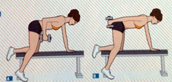 Упражнение 4 для трицепсов
