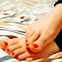 Ванночки для ухода за кожей ног с маслами