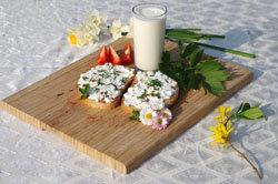 Кальций в молочных продуктах
