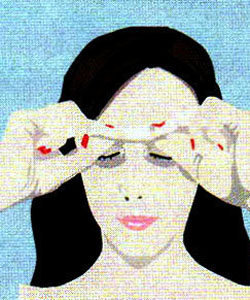 Гимнастика для мышц лица. Упражнение 3