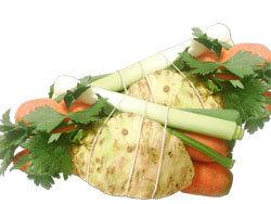 сельдерей, морковь, лук-порей