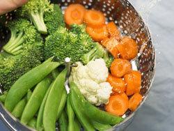 рекомендуется готовить чаще овощи