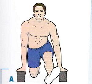 4. Упражнения для суставов стопы ноги