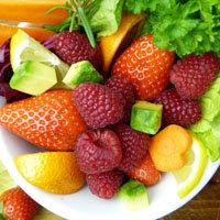 18a. фруктовый салат с авокадо