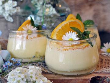 Лимонный йогурт с киви