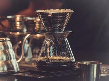 кофе с обычным бумажным фильтром