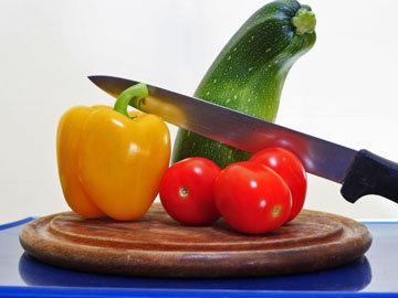 2. Запеченные цуккини и помидоры
