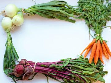 Преимущества цветной диеты