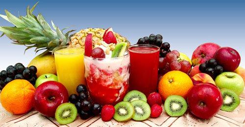 Большинство фруктов и овощей содержат витамин С