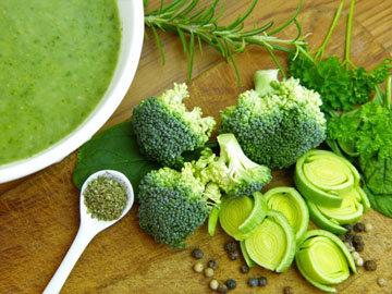 Суп с брокколи