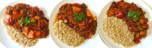 3. Рис и рататуй