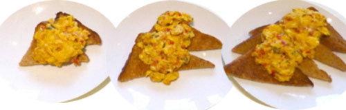 8. Яичница на тосте