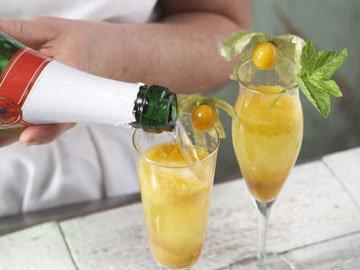 Коктейль с шампанским 5