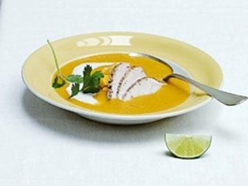 куриный суп Mulligatawny