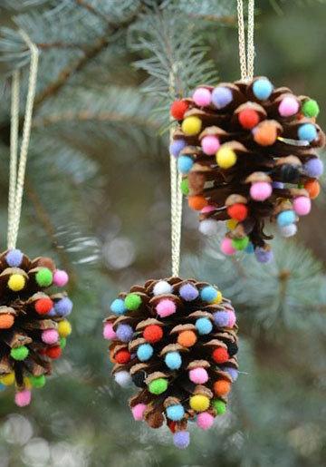 пара идей для красивого новогоднего стола 2