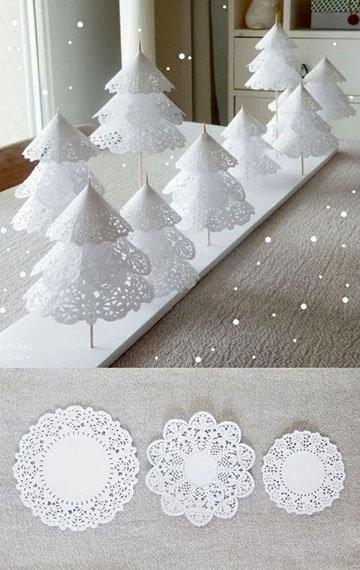 пара идей для красивого новогоднего стола 3