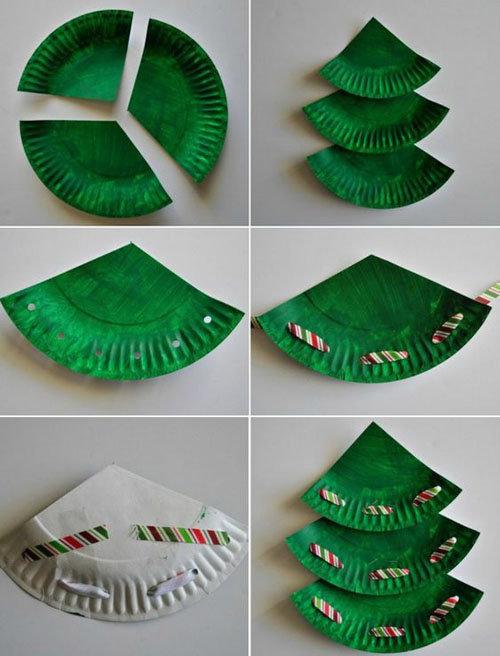пара идей для красивого новогоднего стола 4