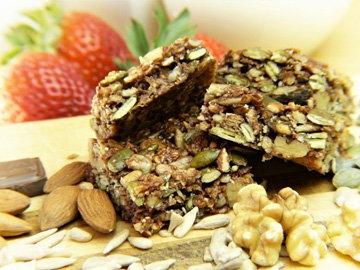 Источники растительного белка - орехи и семена
