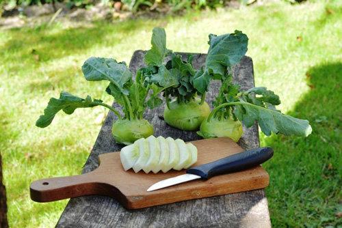 Рецепты в Пост. Паста из кольраби с соусом
