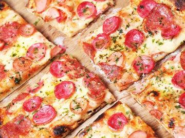 Пицца с низким содержанием углеводов