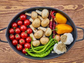 потребление большого количества фруктов и овощей