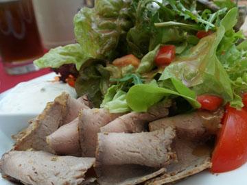 салат с белками