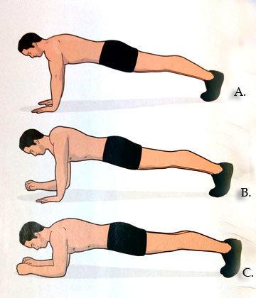 Упражнение Альтернативная планка