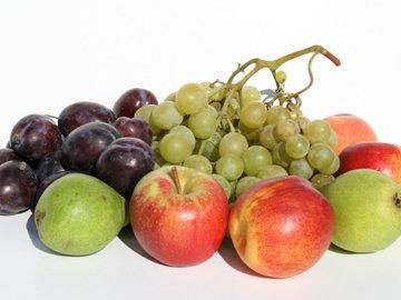 много сахара в фруктах