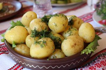 Холодный картофель