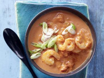 Экзотический томатно-кокосовый суп