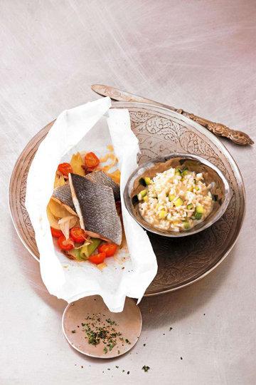 Рыба в пергаменте