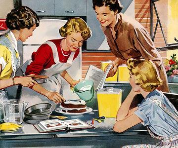 6. На кухне. Готовьте сами еду