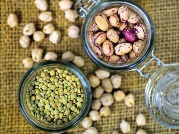 Продукты-поставщики растительного белка