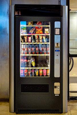 исследования у торгового автомата по продаже закусок