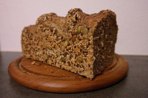 Рецепт хлеба без дрожжей Белковый