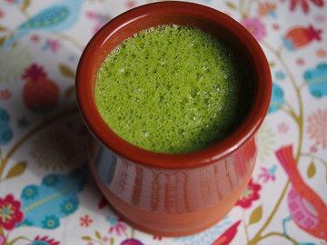 Среда. Завтрак смузи из зеленых овощей