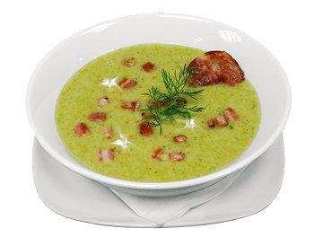 Суббота. Обед суп из брокколи