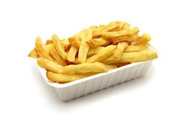 Бургеры, картофель фри, кола