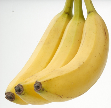 Приготовьте бананы как основу