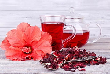 Мексика. Слегка кислый чай из цветов гибискуса